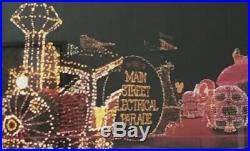 VINTAGE Walt DISNEY World 1977-1991 Main Street Electrical Parade Framed Poster