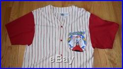 VTG NWOT 1980s Disney Store Who Framed Roger Rabbit Jessica Jersey Shirt L