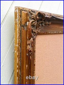 Victorian Frame with Walt Disney Pin Trading Display Cork Board Princess 31x43