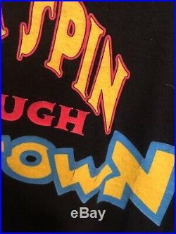 Vintage Disney WHO FRAMED ROGER RABBIT MOVIE AllOver Print t-shirt Sz L/XL Rare