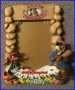 Vintage Splash Mountain Walt Disney World Picture Frame Brer Fox, Bear & Rabbit