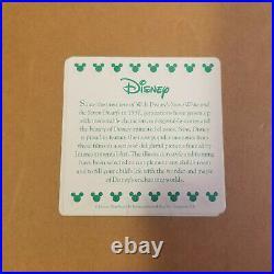 Vtg Walt Disney Gold Framed Sketch Drawings Peter Pan 1953 & Snow White 1937