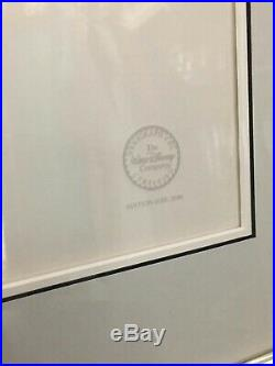 WALT DISNEY Fantasia Dance of Hours Limited Edition Serigraph Cel Ostrich Framed