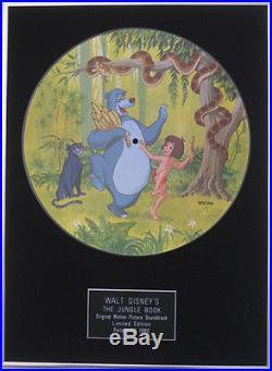 WALT DISNEY'S-Original Motion Picture Soundtrack-JUNGLE BOOK-Framed Picture Disc