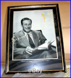 WALT'S MAGIC 2001 Framed Limited Edition Walt Disney Disneyland Art Print COA