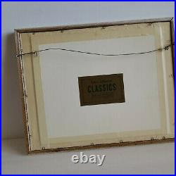 WDCC Pooh from Walt Disney's Winnie the Pooh matted frame w Certificate OA 15