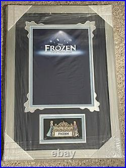 WDI Walt Disney Imagineering Frozen Live At The Hyperion Artist Proof Framed Pin