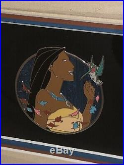 WDI Walt Disney Imagineering Pocahontas Heroine Profile Progression Pin Frame