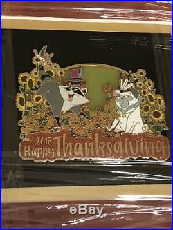 WDI Walt Disney Imagineering Pocahontas Thanksgiving Artist Proof AP Frame Pin