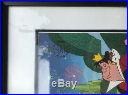 WDW Animation Gallery 2009 Alice in Walt Disney World Framed Cel and Pin Set