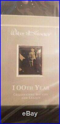 Walt Disney 100th Year Limited Edition Framed Pin Set NEW Original Box. #793 of