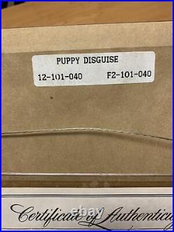 Walt Disney 101 Dalmatians Framed Sericel Puppy Disguise