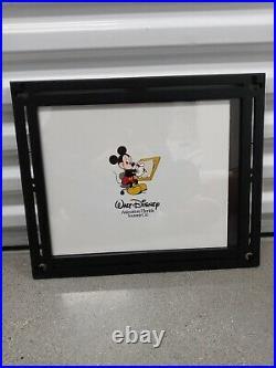 Walt Disney Animation Florida Mickey Mouse Animator Souvenir Cel Custom Framed