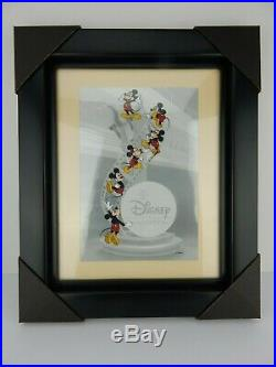 Walt Disney Animation Gallery Mickey Mouse Filmstrip Framed Cel