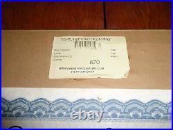 Walt Disney Bambi Serigraph Serigraph Limited Edition COA Framed