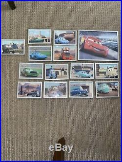 Walt Disney Cars Picture Frames Lot Of 14 Pixar Framed Multiple Characters