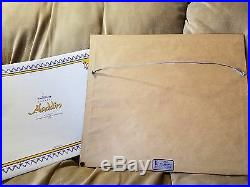 Walt Disney Classic Aladdin Deluxe Collector's Video Edition & Framed Litho