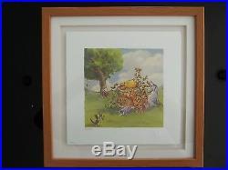 Walt Disney Classic Pooh Lithograph''Hide'N Seek'