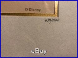 Walt Disney Collectors Society Framed Pin Set, A Decade Of Dreams, LE 11 Pins