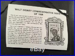 Walt Disney Commemorative Issue Medallion Framed LE