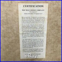 Walt Disney Company CINDERELLA 1950 Limited Edition Serigraph Cell Framed