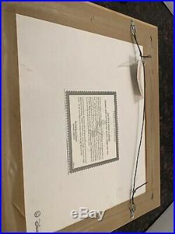 Walt Disney Dumbo 60th Anniversary Framed Model Sheet Pin Set #103 Of 5000