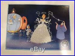 Walt Disney Exclusive Commemorative Lithographs. 14 x 11 Paper Framed. Mint