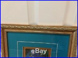 Walt Disney Fantasia Sorcerer Mickey 4 Pin Set Framed Brooms Eric Robison Mickey