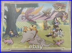 Walt Disney Figment Frame Set 8 Pins Limited Edition 100 BRAND NEW