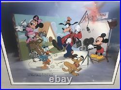 Walt Disney Framed CalArts Studio Limited Employee Cast Exclusive Sericel