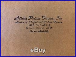 Walt Disney Framed Donald Duck Limited Edition Aniamtion Cel Certified