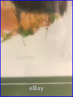 Walt Disney Framed I'm Going to Call Him Tarzan 1999 Lithograph 104/250