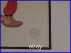 Walt Disney- Framed Mickey Mouse Golf Serigraph Cel from Canine Caddy LE 2500