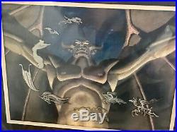 Walt Disney Gallery Fantasia Night Bald Mountain Limited Edition Framed Pin Set