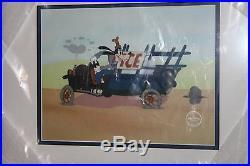 Walt Disney Goofy Moving Day Framed Le Sericel