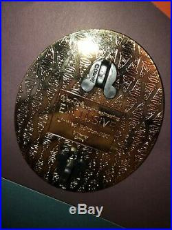 Walt Disney Imagineering Jasmine & Rajah (Aladdin) Gold Frame Pin Wdi Profile