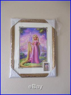Walt Disney Imagineering WDI Rapunzel Tangled EXTREMELY RARE Pin Frame Set