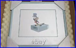 Walt Disney JIMINY CRICKET, FRAMED SERICEL NEW IN BOX MINT