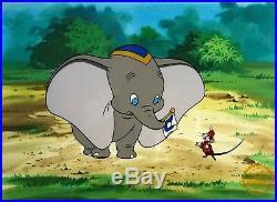 Walt Disney L/ED Dumbo Animation Sericel Custom Framed FREE SHIPPING