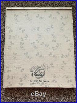 Walt Disney MICKEY MOUSE SORCERER Artist Sketch Drawing 2001 FRAMED WDW
