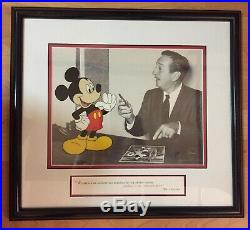 Walt Disney Making Magic Together Authentic Picture w Frame