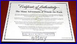 Walt Disney Many Adventures Of Winnie The Pooh Framed Le Sericel Tigger Eeyore