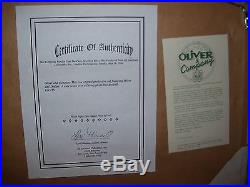 Walt Disney Oliver & Company Original Production Cel Framed Lot 235 New With COA