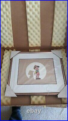 Walt Disney PINOCCHIO, FRAMED SERICEL NEW IN BOX MINT