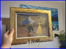 Walt Disney Pictures Presents Tale as old as time. Framed art Item # 25075