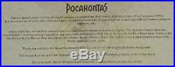 Walt Disney Pocahontas, Pocahontas framed animated cel LE #47/183 with COA