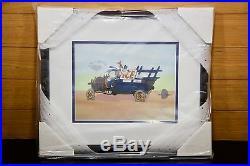 Walt Disney Sericel Goofy Moving Day 12K2G0F050 Box New Mint Framed CoA LE