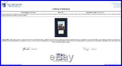 Walt Disney Signed Framed 14x21 Photo Display PSA/DNA