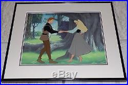 Walt Disney Sleeping Beauty Dream Duet Framed Limited Edition Sericel