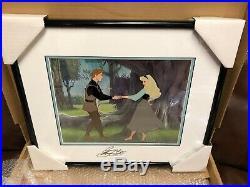 Walt Disney Sleeping Beauty Dream Duet Framed Limited Edition Sericel Signed